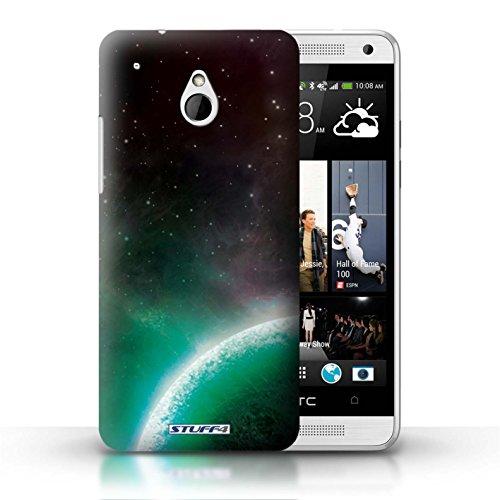 Kobalt® Imprimé Etui / Coque pour HTC One/1 Mini / Planète Verte conception / Série Cosmos Planète Verte