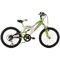 """Bici bambino Mountainbike Fully 20"""" Zodiac verde-bianco 31 cm KS Cycling"""