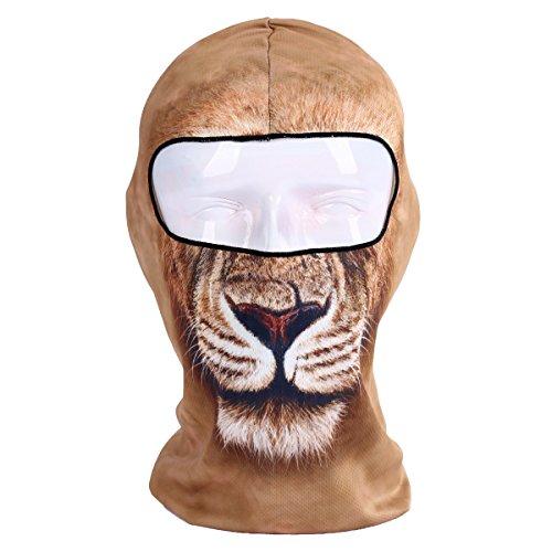 Unisex Sturmhaube Maske Schutz-Gesicht, chuntian Design 3D Tier -
