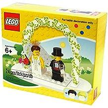 Lego mini fig Wedding fiber / LEGO Minifigure Wedding Favors Set 853340 (wedding gift) [domestic regular article] For table decoration only (japan import)