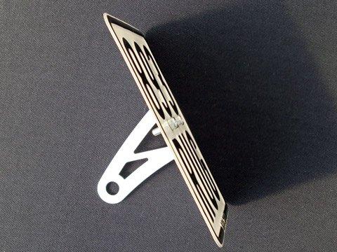 wp-s Kennzeichenhalter seitlich für Roller Mofa Moped 50ccm Motorroller Scooter seitlicher universal Halter für viele Modelle wie z.b. Speedfight 2/3 / 4 Speedjet usw