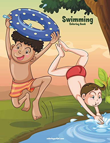 Swimming Coloring Book 1: Volume 1 por Nick Snels