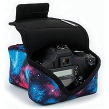 Funda de Cámara Digital   Estuche Semipermeable para Cámara Reflex Por USA Gear   Bolsa Protectora DSLR para Nikon D3300 D750 D5300 D5500 Canon EOS 1300D 100D 700D 750D Pentax K50 , Accesorios y más
