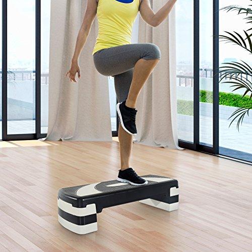 Stepper Fitness Aerobic hauteur reglable surface antiderapante 80...