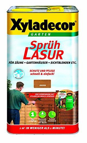 5-l-xyladecor-spruhlasur-fur-zaune-gartenhauser-sichtblenden-etc-farbton-kiefer