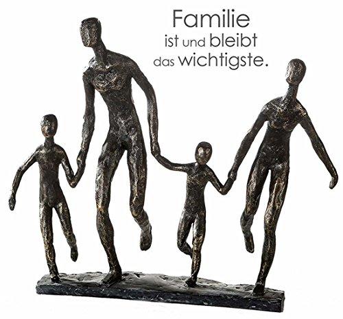 Casablanca Figur, Skulptur, Objekt, Dekofigur - Familie, We Are Family - Poly - Höhe: 35 cm
