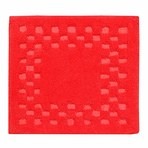 homescapes-check-border-square-shower-mat-red-soft-100-cotton-1200-gsm-washable-bath-rug-with-non-sl