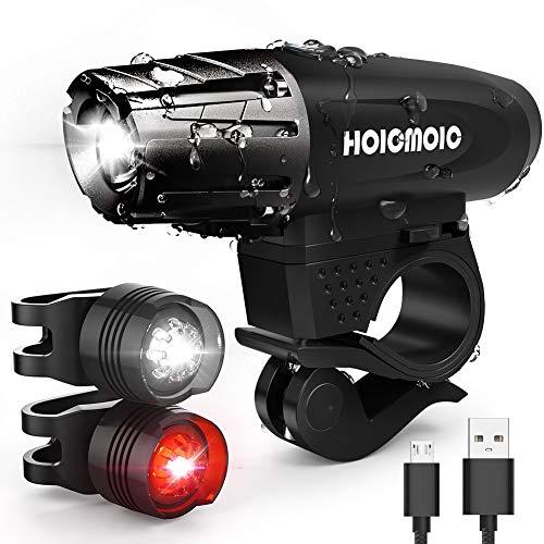 ADMIN USB-Lade-LED-Scheinwerfer - Mountainbike-Rücklichter - Nachtfahrradausrüstung - Wasserdichtes Und Helles Sicherheitsfahrrad