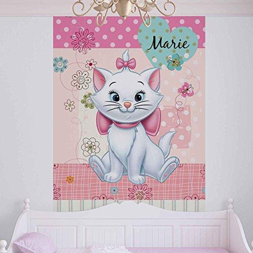 Die Aristocats 2 (Disney Aristocats Marie - Forwall - Fototapete - Tapete - Fotomural - Mural Wandbild - (804WM) - XL - 254cm x 184cm - Papier (KEIN VLIES) - 2 Pieces)