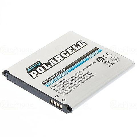 cellePhone PolarCell Akku Li-Ion für Samsung Galaxy S4 ( GT-I9500 ) ( ersetzt EB-B600BEBECWW )