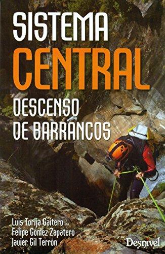 Descenso de barrancos. Sistema Central por Luis Torija