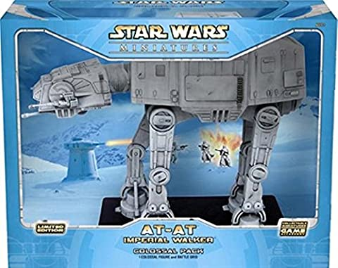 FIGURINE AT AT IMPERIAL WALKER STAR WARS MINIATURES 30CM