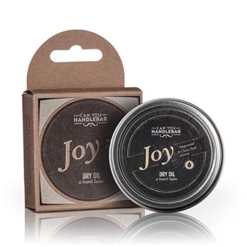 - Pfefferminz & Salbei Aroma - Bart Balm für Männer | Dry Oil Beard Conditioner | 2 Oz Edelstahl Zinn Peppermint & Muskatellersalbei ()
