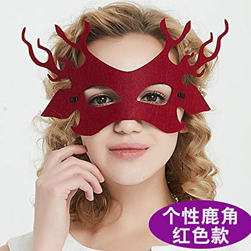 Fanfan Lace Masquerade Maske Halloween Eyemask Venezianische Masken Sexy Lady Girl Spitze Augenmaske Für Halloween Kostüm Ball Carnival Party, Schwarz,4