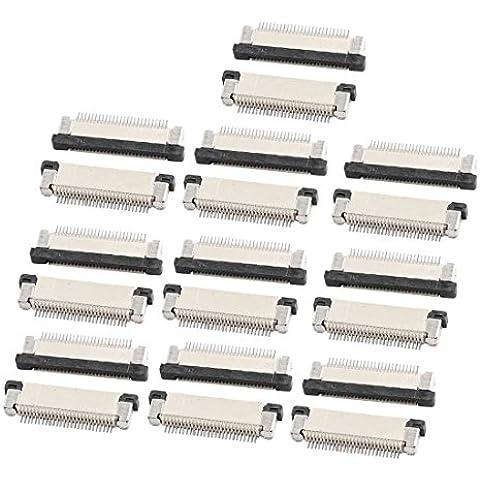 Parte inferior de 0,5 mm puerto de 26 pines Pitch FFC FPC cinta zócalos de conexión 20Pcs