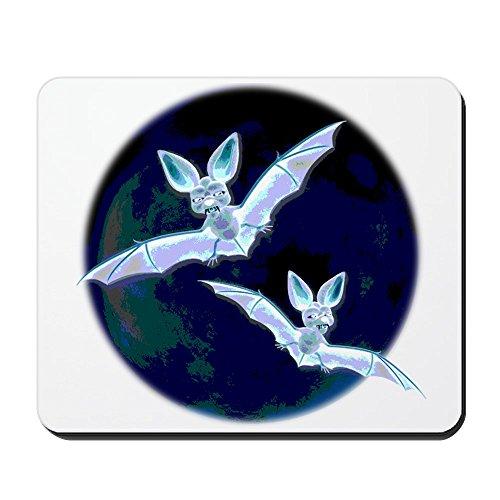 CafePress-Halloween Fledermäuse-rutschfeste Gummi Mauspad, Gaming Maus Pad (Sprüche Fledermaus Halloween)