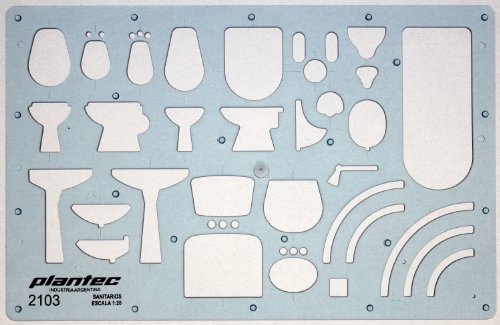 120-scale-architectural-sanitary-plumbing-fixtures-architect-drawing-template-stencil-technical-draf