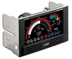Aerocool V12XT Multifunktion Touch Panel schwarz