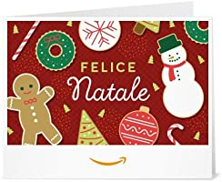 Buono Regalo Amazon.it - Stampa - Dolcetti di Natale