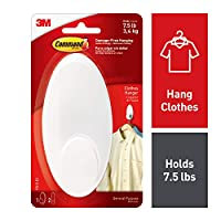 Command Clothes Hanger, Large, White