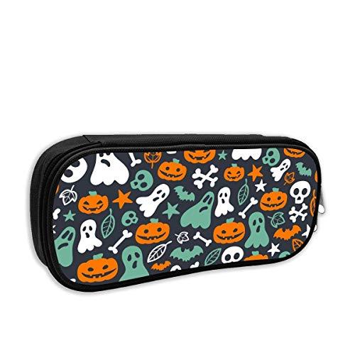 t Pumpkin Pencil Case Pouch Bag Multifunction Cosmetic Makeup Bag School Office Storage Organizer ()