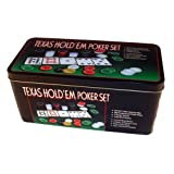 Deal of the Day – Buy Texas Hold'Em Poker Set Casino Game - 200 Poker Chip at Price 699.00