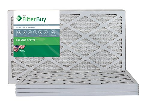 Ofen Filter/Air Filter - AFB Platinum Merv 13 (4 Pack), AFB17x22x1M13pk4 (Central Filter Air)