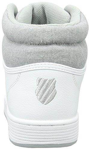 K-Swiss Herren Hoke Mid C Cmf Low-Top Weiß (White/Highrise)