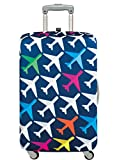 LOQI Luggage Cover AIRPORT, Airplane