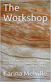 The Workshop: dominant woman, submissive man, few days, remote house, one piece of wood, a workshop full of tools by [Melville, Karina]