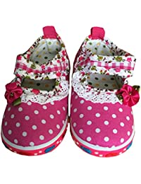 All About Pinks Baby Girls Mary Jane Soft Sole Musical Princess Sneaker Shoes