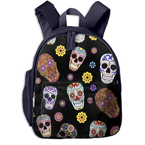 Kinderrucksack Kleinkind Jungen Mädchen Kindergartentasche Zuckerschädel 038 Backpack Schultasche Rucksack