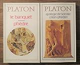 2 volumes le banquet ph?dre 1996 ; apologie de socrate criton ph?don 1995 gf