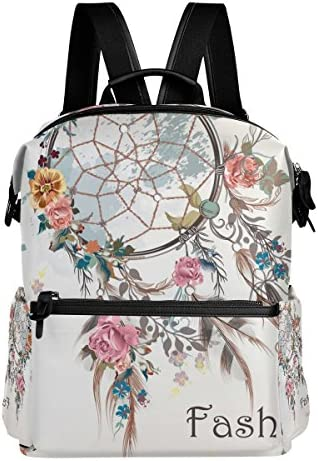 COOSUN Dreamcatcher et Design Fleurs école Rucksack Sac à dos Voyage Multi | Exquis