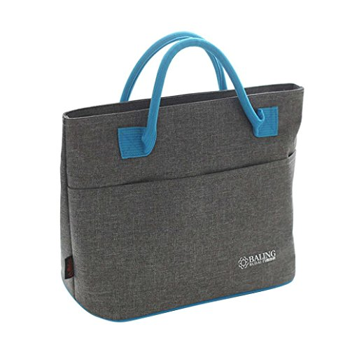 Clode® ice borsa a tracolla isolamento in alluminio pellicola lunch box portatile borsa pic-nic, adulti (unisex), a, 23 * 16 * 23cm