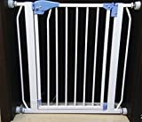 Kiddale- Safety Gate(barrier,fence) for baby(kids, dogs, pets, infants and babies) to use at home-Suitable for passage between 75cm(29.5 inch) to 82cm(32 inch) with option to extend upto 5ft (using separate extensions)