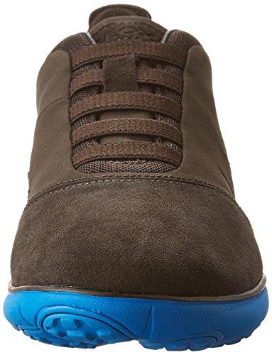 Geox Herren U Nebula F Sneakers Braun (COFFEE/BLUEC1696)