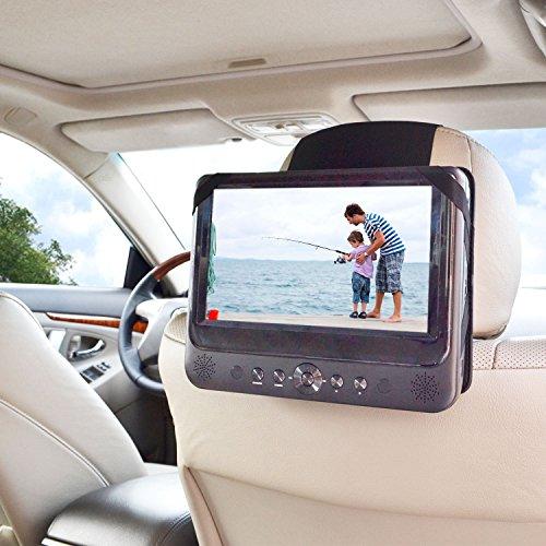 WANPOOl Universelle Auto Kopfstützen Klemmhalterung für Sony BDPSX910 tragbaren Blue-Ray-Player und andere 9 Zoll DVD-Player (DVD-Player ist nicht - Auto, Dvd-player Sony