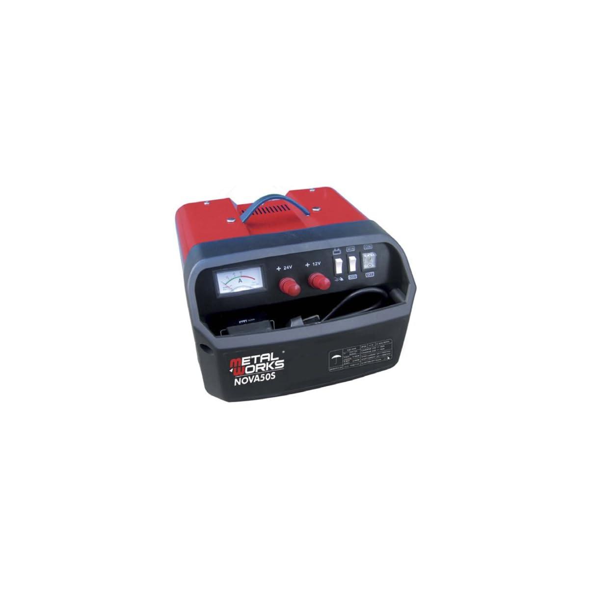 51I973Dl 7L. SS1200  - Cargador + arrancador de baterias 12 y 24v alta potencia