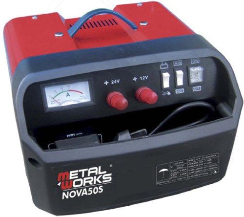 51I973Dl 7L - Cargador + arrancador de baterias 12 y 24v alta potencia