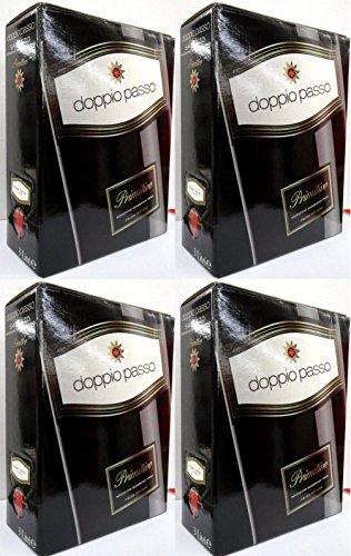 4 x DOPPIO PASSO SALENTO PRIMITIVO 13,5{ba5880b6a75673057168391603cd77560de3eafcbdde94cb6ac45f9b668cc6ad} Bag in Box 3 Liter