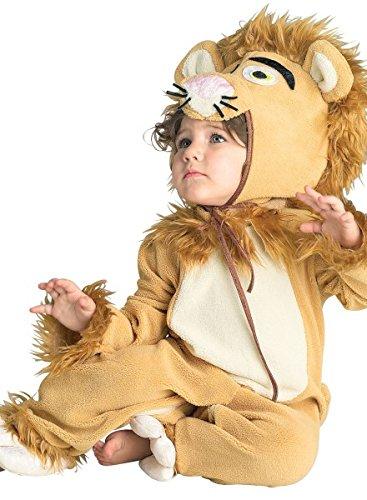 Löwenkostüm Baby, Tierkostüm Löwe Kleinkind, 2-teilig, (Löwe 2 Kostüm Mann)