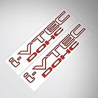 Demupai Honda i-vtec Dohc Car Decal sticker Adesivo (Adesivo Vtec)