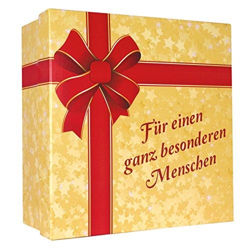 """Multionline Geschenk-Karton """"Für einen ganz besonderen Menschen"""" - XXL Geschenk-Schachtel für Valentinstag, Geburtstag, Jahrestag"""