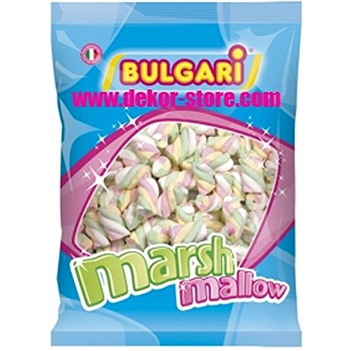 Price comparison product image Marshmallow Extruded Braid 4 Colours 1 Kg