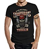 Trucker Racer T-Shirt: Diesel-Power Keep on Trucking XXXL