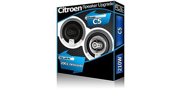 Citroen C5 Rear Door Speakers Fli Audio car speaker kit 210W
