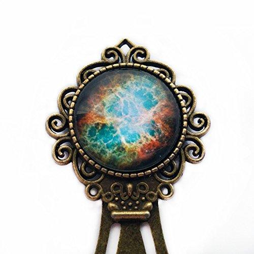 NASA Photograph Foto Galaxy Magic Galaxie Nebel Lesezeichen