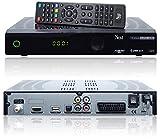 NEXT YE-2000 FTA USB digitaler Satelliten-Receiver inkl. HDMI Kabel (HDTV, DVB-S2, HDMI, SCART, USB 2.0, S/PDIF, Full HD 1080p) [vorprogrammiert ASTRA, HOTBIRD, TÜRKSAT] - schwarz