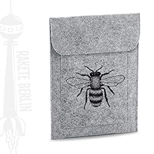 Tablet Filzhülle 'Biene – gezeichnet'